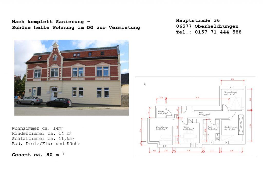 Wohnung in Oberheldrungen